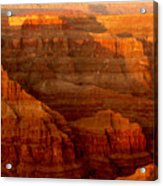 The Grand Canyon West Rim Acrylic Print