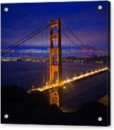 The Grand Golden Gate Acrylic Print