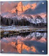 The Grand Teton Acrylic Print
