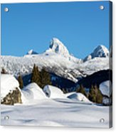 The  Grand Tetons From Alta Wyoming Acrylic Print