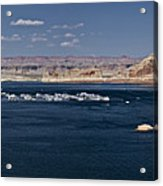 The Grand View Of Wahweap Bay Acrylic Print