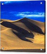 The Great Dunes National Park Acrylic Print