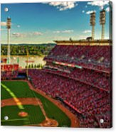 The Great American Ball Park - Cincinnati Acrylic Print