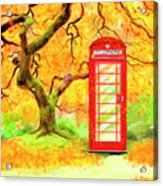 The Great British Autumn Acrylic Print