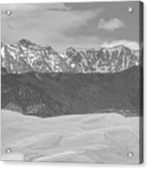 The Great Colorado Sand Dunes  Acrylic Print
