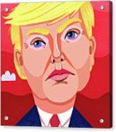 The Great Dictator Acrylic Print