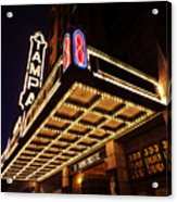 The Great Movie Marquee Acrylic Print