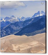 The Great Sand Dunes Color Print 45 Acrylic Print