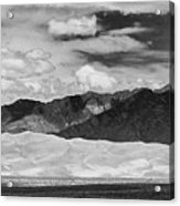The Great Sand Dunes Panorama 2 Acrylic Print