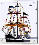 The Great Ship Gasparilla Acrylic Print