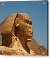 The Great Sphinx Of Giza Acrylic Print