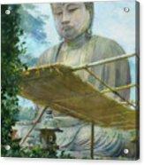 The Great Statue Of Amida Buddha At Kamakura Acrylic Print