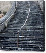 The Great Wall Steps Acrylic Print