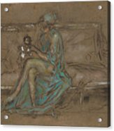 The Green Cap Acrylic Print