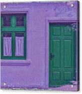 The Green Door Acrylic Print