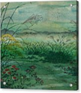 The Green, Green Grass Of Home Acrylic Print