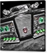 The Green Hornet - Black Beauty Acrylic Print