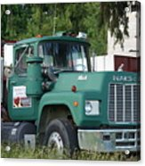 The Green Mack Acrylic Print