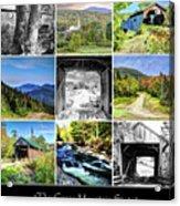 The Green Mountain State Acrylic Print