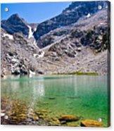 The Green Of Treasure Lake 3  Acrylic Print