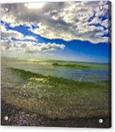The Green Sea Acrylic Print