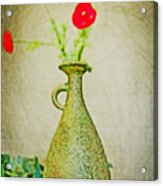 The Green Vase Acrylic Print