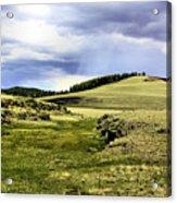 The Green White Mountains 1825 Acrylic Print