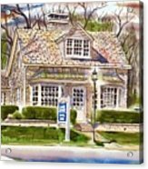 The Greystone Inn In Brigadoon Acrylic Print