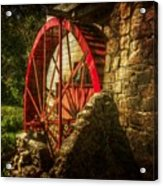 The Gristmill's Waterwheel Acrylic Print