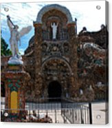 The Grotto Of Redemption In Iowa Acrylic Print