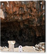 The Grotto Of The God Pan Acrylic Print