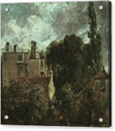 The Grove Or The Admiral's House In Hampstead Acrylic Print