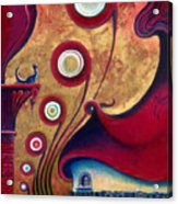 The Guardian Of Changes The Destiny Acrylic Print