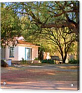 The Guest House  Acrylic Print by Donna Greene