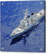 the guided-missile destroyer USS Okane Acrylic Print
