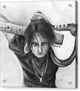 The Guitarist Acrylic Print