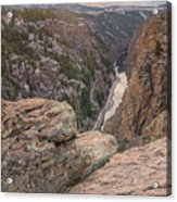 The Gunnison River At Black Canyon Acrylic Print
