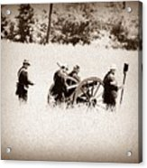 The Guns Of Gettysburg Acrylic Print