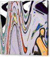 The Guru Descends The Mountain Acrylic Print