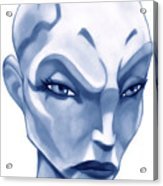 The Hairless Harpy Aka Asajj Ventress Acrylic Print