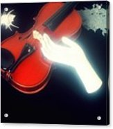 The Hand And The Violin Acrylic Print