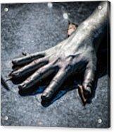The Hand Acrylic Print