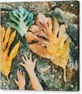 The Hands 2 Acrylic Print