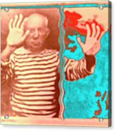 The Hands Of Picasso Acrylic Print