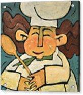 The Happy Chef Acrylic Print