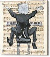 The Happy Pianist Acrylic Print