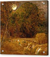 The Harvest Moon Acrylic Print