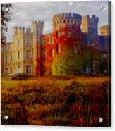 The Haunted Castle Acrylic Print
