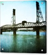 The Hawthorne Bridge Acrylic Print