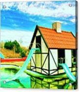 The Hazmat Water Park Acrylic Print